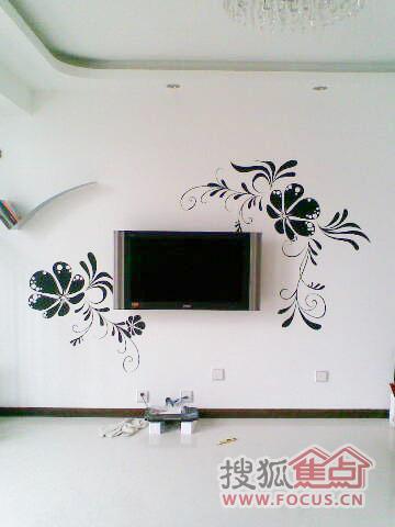 不做电视墙 20款纯手绘背景墙壁俘获芳心(图)