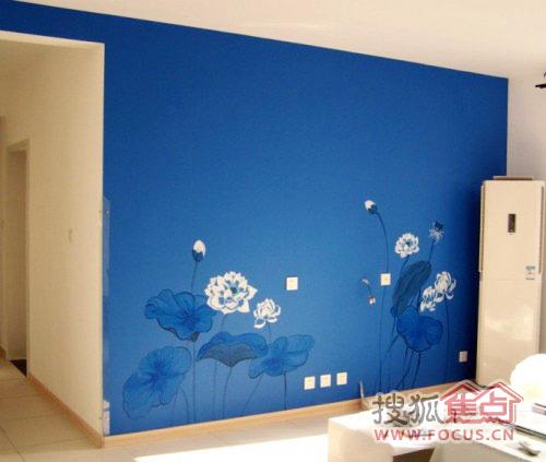 不做电视墙 20款纯手绘背景墙壁俘获芳心