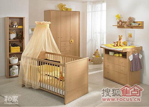 婴儿房木质家具 打造童话森林木屋