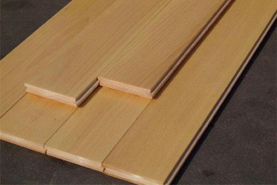 资讯 行业 文章       实木地板是由天然木材,经烘干,加工后形成,又称