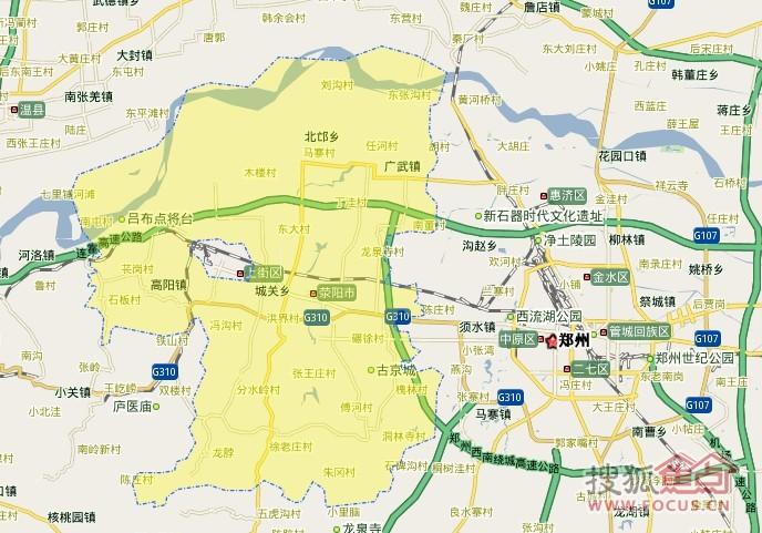 河南省上街区地�_河南省荥阳市地图_排行榜大全