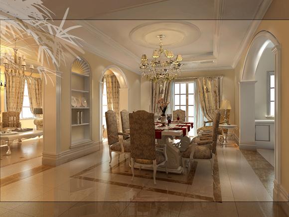 欧式新古典主义别墅装修实例