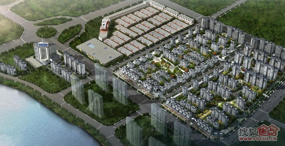 蚌埠通成城市综合体规划及建筑设计方案一