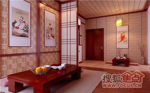 禅式风格装饰 不一样的风格不一样的家(图)图片