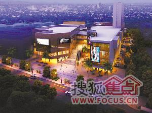 效果图.武汉市建筑设计院提供-万松园路建西园商业街