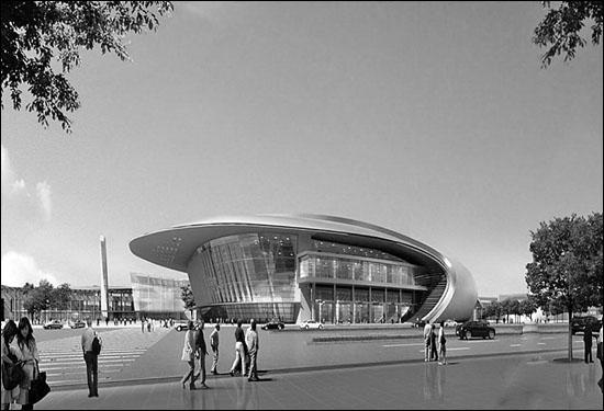 济南西客站会展中心效果图亮相高清图片
