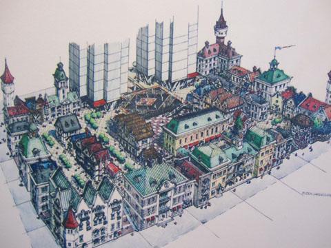 台湾设计师梁敏川手绘作品