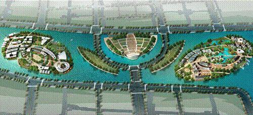活力岛规划效果图1