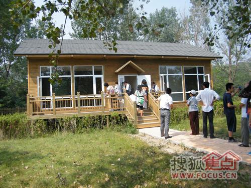 原生态小木屋别墅