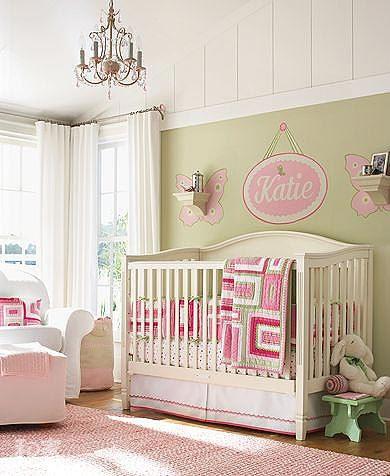 10款婴儿房手绘背景墙 给孩子精彩的童年