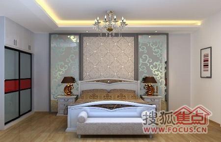 20款简约卧室设计 背景墙超棒