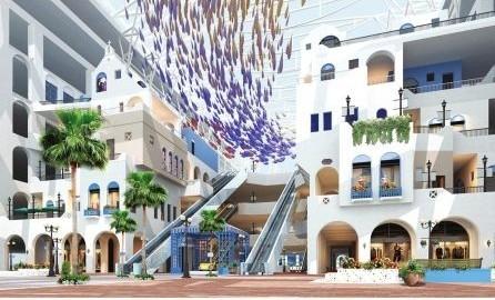 再加之天堂岛海洋乐园等特色的文化娱乐项目,在极大提升新世纪环球