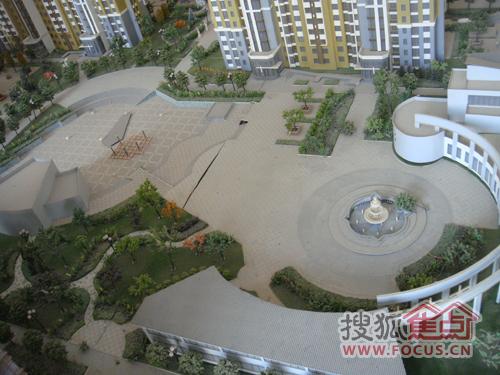 koma国际花园下沉式广场图片
