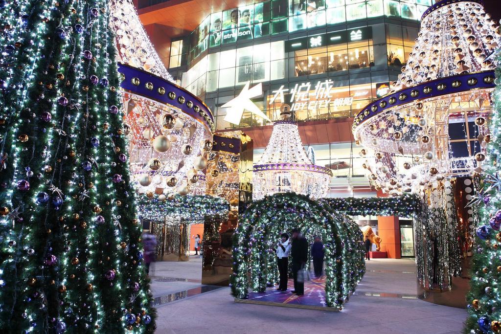 大悦城圣诞星光舞会图片