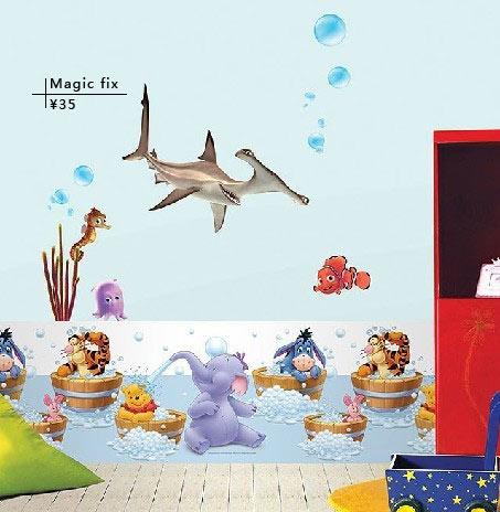 儿童海豚简笔画彩色