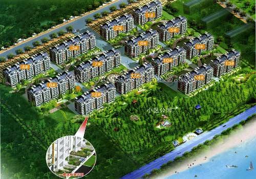 威海中顺房地产开发有限公司,威海华金房产; 南海新区-金滩 焦点威海