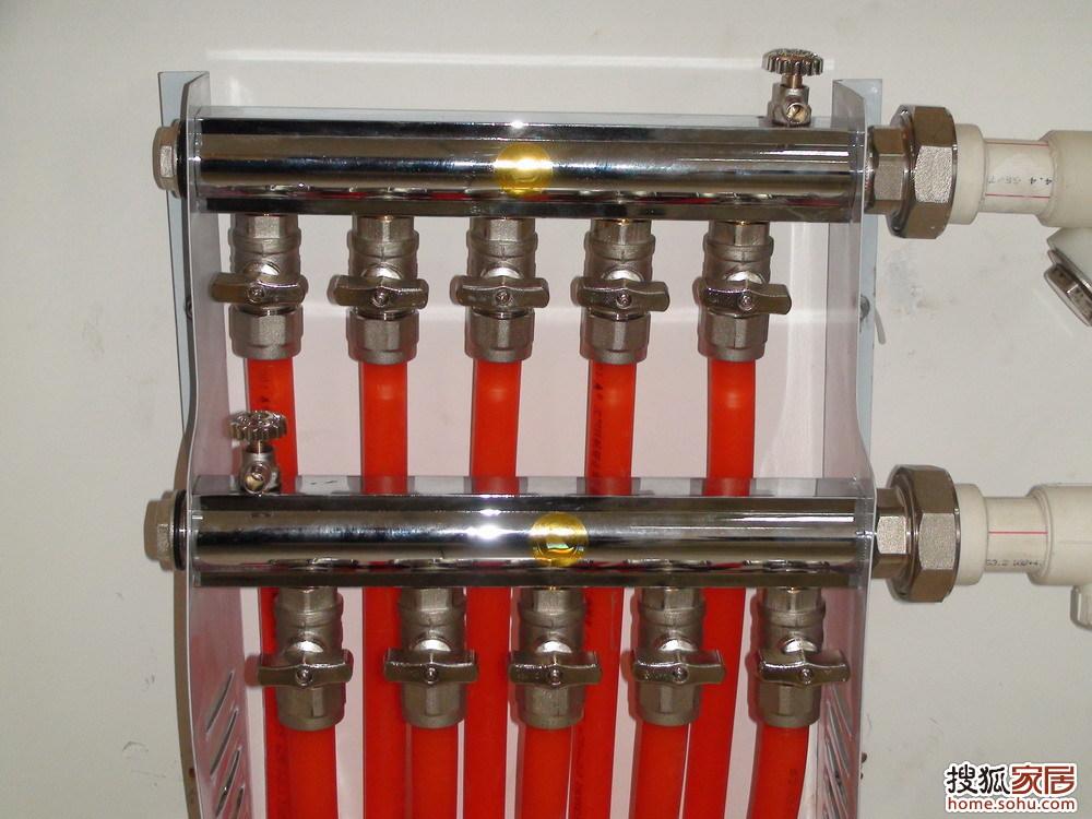 地热管     4. 系统管道阀门     5.图片