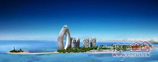 凤凰岛61岛居价值全球最美启航礼-三亚凤凰岛楼盘