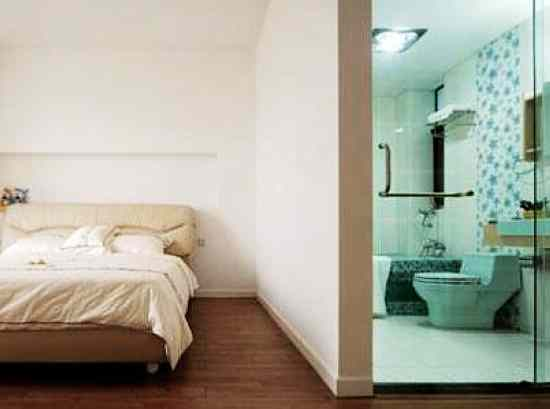 家用卧室伸缩门图片