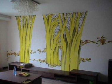 创意涂鸦 个性手绘墙让您拥有更美的家