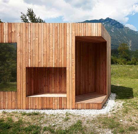 山区风情 带您领略德国南部木制小屋