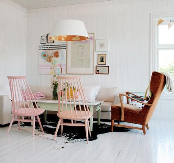 用嫩绿或粉蓝diy喷绘小清新家具-新闻中心-搜狐焦点