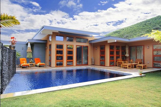 屋�_夏威夷的巴厘岛风格度假屋