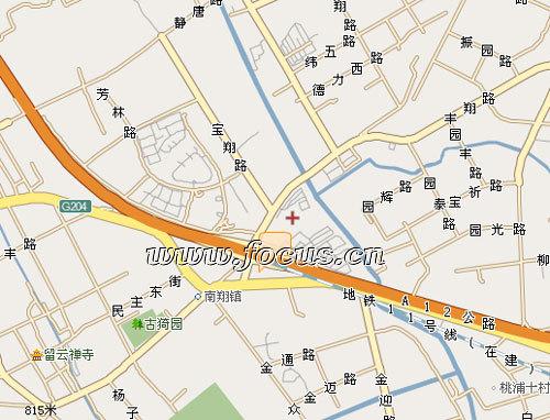 华东最大的铁路运输枢纽――南翔铁路编组站就在境内,距虹桥机场12