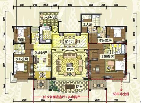 六,   从地下到楼上,空中别墅设计升级   不断升高的地价与容积率图片