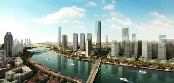由天津市商务委员会及天津市河东区政府主办,天津嘉里房地产开发