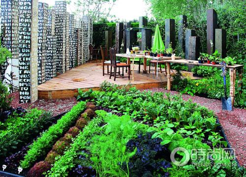 5月蔬果花园 设计理念 充满新鲜感(组图)图片