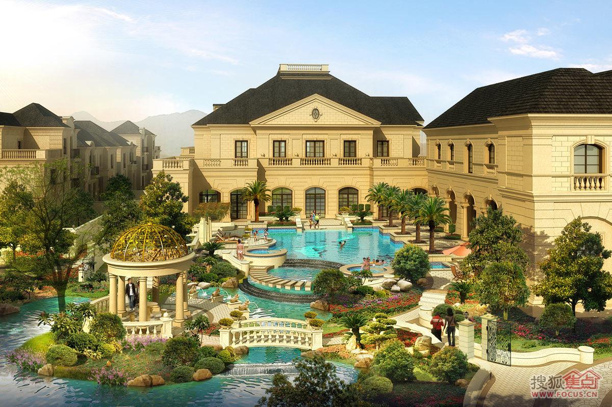 建筑泳池设计图