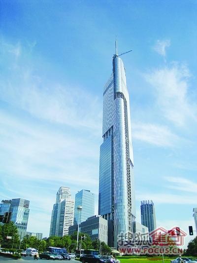 南京绿地核心紫峰大年夜厦