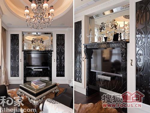 7.9万元装修93平米三室两厅北欧风高清图片