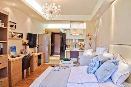 50平米平层公寓拥有自我的独立空间