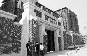 5月26日,位于北京西三环内的钓鱼台7号院。新华社发