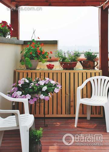 合理利用空间打造空中花园 带给家人美妙享受