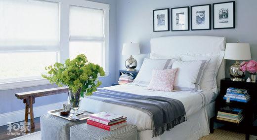 暖色冷色中间色 三色卧室选你喜爱