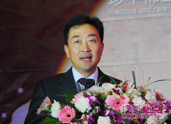 佛山欧神诺陶瓷股份有限公司董事长鲍杰军先生致辞