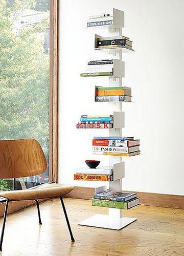 实用小书架设计 提升空间收纳能力