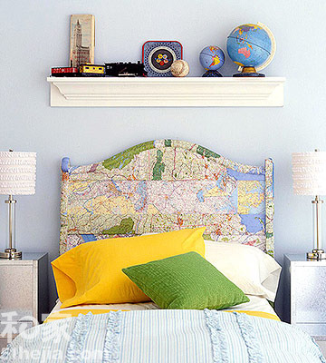 怀旧木板床靠背+手工心型卡片图片