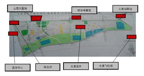 龙城大街片区规划及重点工程落地 -首开国风上观 扛鼎太原南部新城健