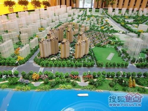 淮阴公园手绘图