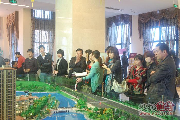 金茂四季花园三期水岸华宅 盛装加冕销售过亿