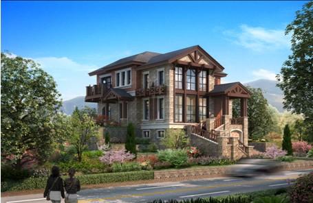 一个顶级的别墅产品,除了无可挑剔的产品力之外,还要有顶尖的山水风景