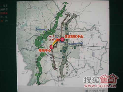 正定森林公园地图