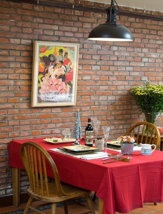 美味圣诞之最HOT的圣诞餐桌装扮方案图片