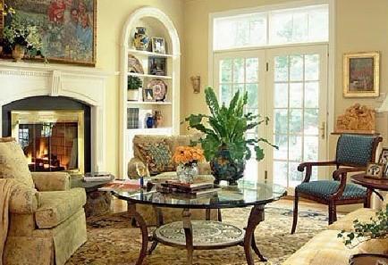欧式客厅 优化沙发与客厅空间布局(组图)图片