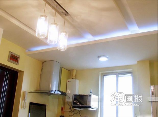 创意电路板墙+迷你厨房(组图)-家居新闻
