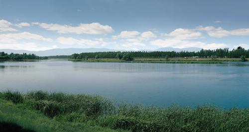 中海尚湖世家最新动态 中海尚湖 坐拥世家国家级沙河湿地公园图片